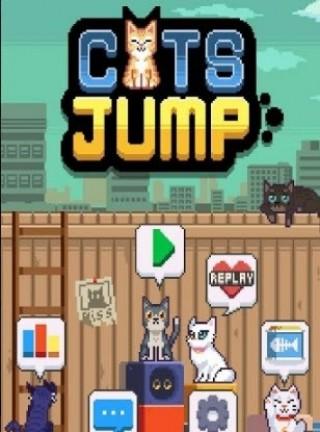 像素猫咪跳跃截图(1)