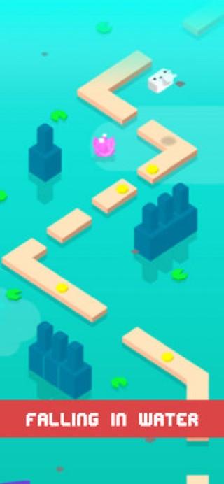 奔跑吧小白 - 跳跳过河截图(1)