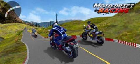 街头摩托 - 极限摩托车游戏截图(1)