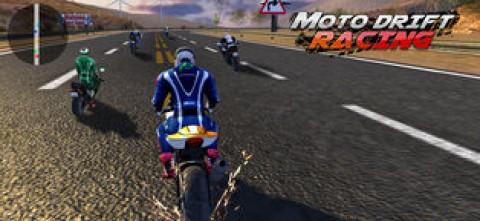 街头摩托 - 极限摩托车游戏截图(2)