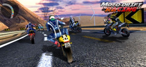 街头摩托 - 极限摩托车游戏截图(3)