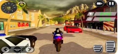 瘋狂的特技自行車騎士游戲2018年:越野審判摩托車賽車手截圖(1)