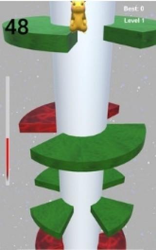 皮卡丘跳螺旋塔截圖(3)