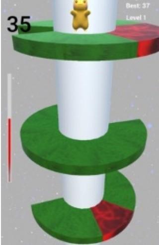 皮卡丘跳螺旋塔截圖(2)