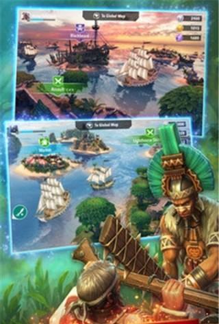海盗奇航秘宝战争截图(2)