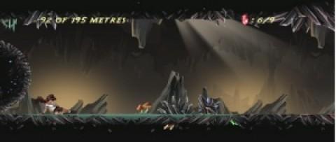 水晶流星被遗忘的洞穴截图(1)