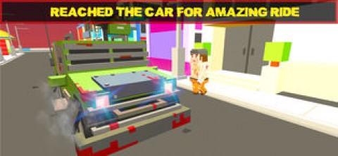 像素警车 - 警察追逐截图(2)