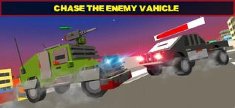 像素警车 - 警察追逐截图(3)