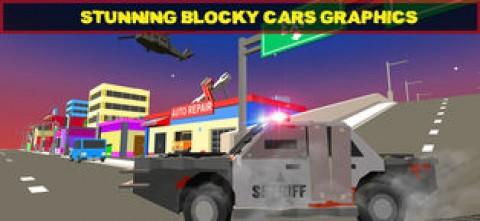 像素警车 - 警察追逐截图(6)