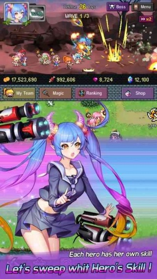 英雄进化2忍者女孩截图(2)