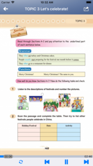 北京仁爱版初中英语七年级上下册截图(5)