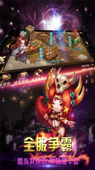 神将三国志-全新三国动作卡牌RPG手游!截图(5)