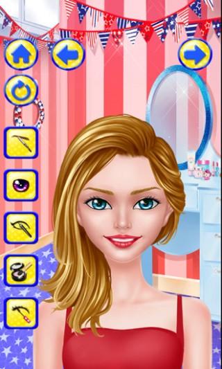美女换装化妆游戏截图(1)