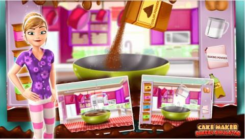 Cake Maker Bakery Simulator截图(1)