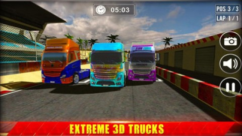 迷你卡车司机货运模拟器截图(3)