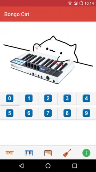 Bongo Cat - 乐器截图(1)