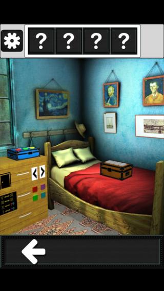 逃脱游戏 复古房间之谜截图(2)