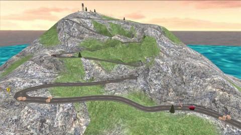 盘山公路3D截图(1)