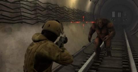地鐵2077最后的對峙截圖(2)