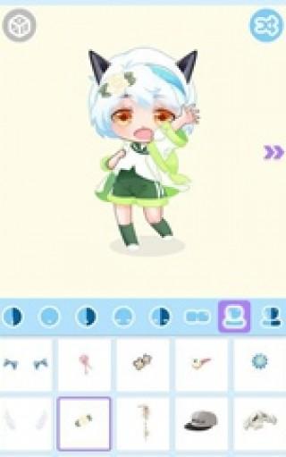 可爱娃娃头像制作截图(3)