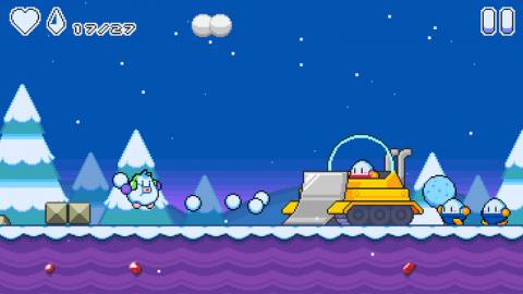 雪孩子 雪球冒险游戏截图(2)
