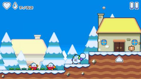 雪孩子 雪球冒险游戏截图(1)