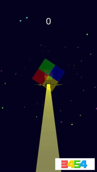 彩色飛行截圖(1)