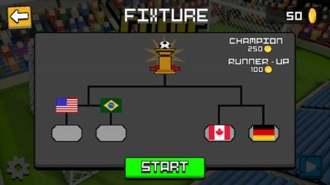 方块足球赛3D截图(4)