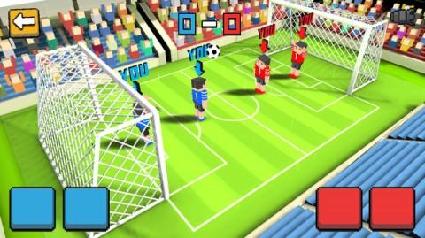方块足球赛3D截图(3)