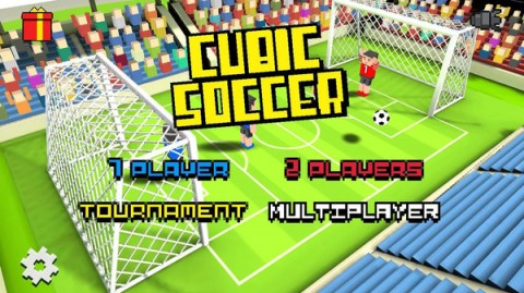 方块足球赛3D截图(2)