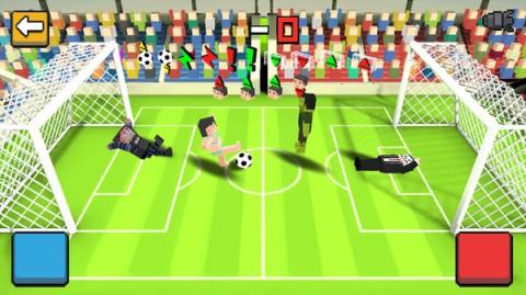 方块足球赛3D截图(1)
