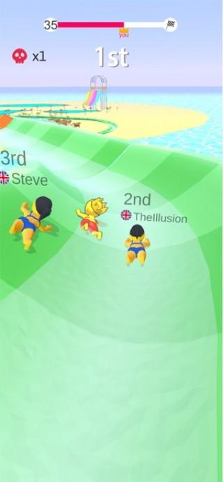 水上乐园滑行截图(2)