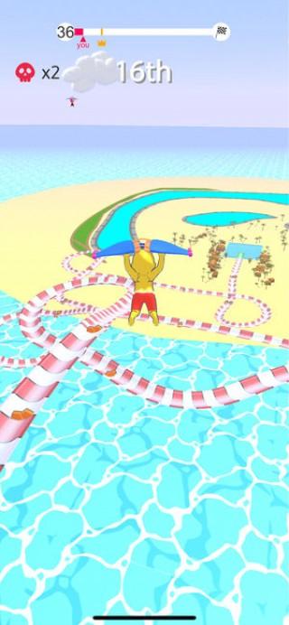 水上乐园滑行截图(1)