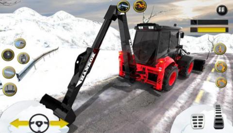 雪地挖掘机截图(3)