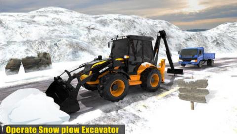雪地挖掘机截图(1)