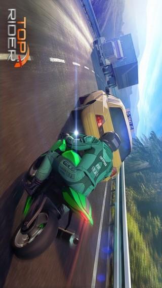 頂級騎手公路摩托比賽截圖(2)