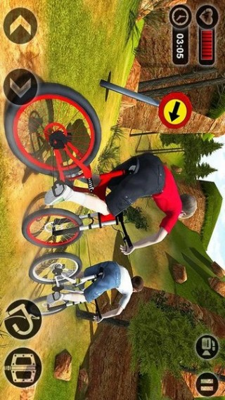 山地自行車越野賽截圖(2)