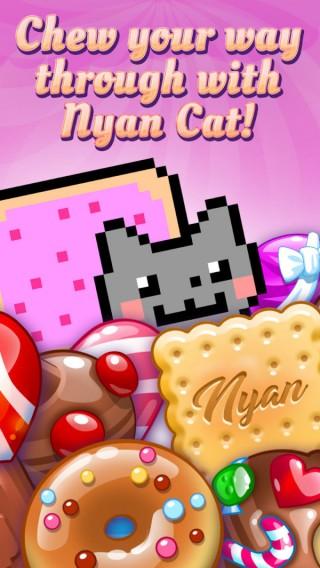彩虹猫糖果比赛截图(4)