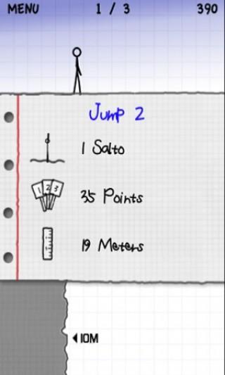 火柴人悬崖跳水截图(1)