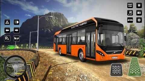 旅游越野公交车2019截图(1)