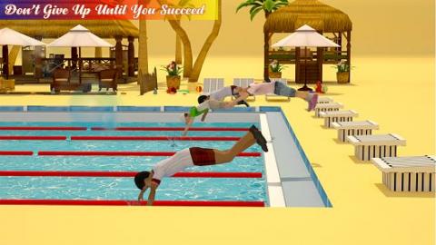 游泳池水上比賽截圖(3)