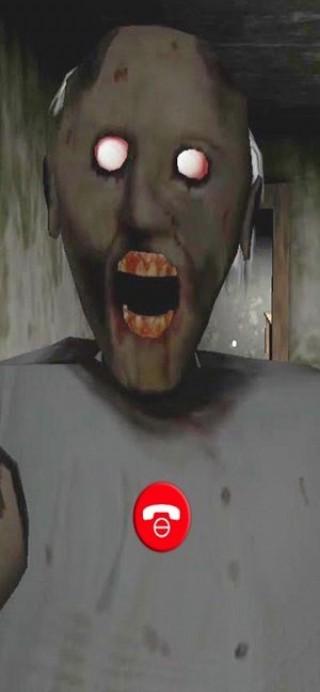 和恐怖奶奶視頻通話截圖(2)