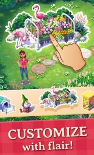 莉莉的花園破解版截圖(1)