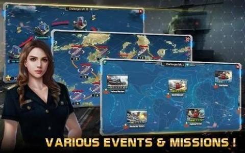 海軍世界機械與軍艦截圖(2)