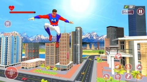 超級英雄飛行模擬器截圖(1)