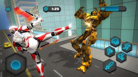 雙劍英雄機器人截圖(2)