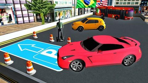 模擬跑車駕駛截圖(1)