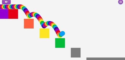 彩虹冲刺游戏中文版截图(1)