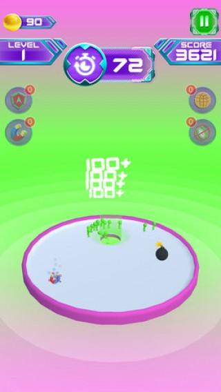 人类进洞比赛3D截图(3)