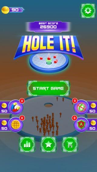 人类进洞比赛3D截图(1)